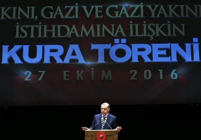 Erdoğan: 'Son 2 Yılda Terörle Mücadele Kanunu Kapsamında Yaptığımız Atama Sayısı 17 Bin 74 Kişiyi...
