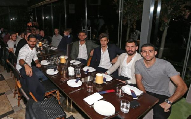 Fenerbahçe'de Motivasyon Yemeği