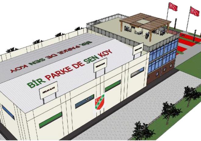 Karşıyaka'da Voleybol İçin Salon Kampanyası