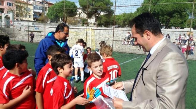 29 Ekim Cumhuriyet Kupası Minikler Futbol Basketbol Karşılaşmaları Sona Erdi