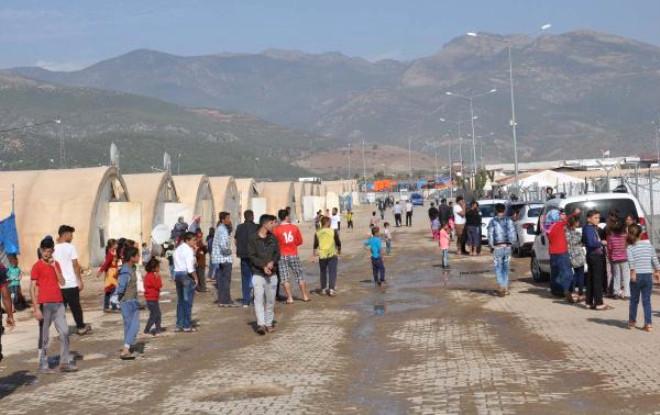 Adana'daki 3 Bin Sığınmacı İslahiye'ye Nakledildi