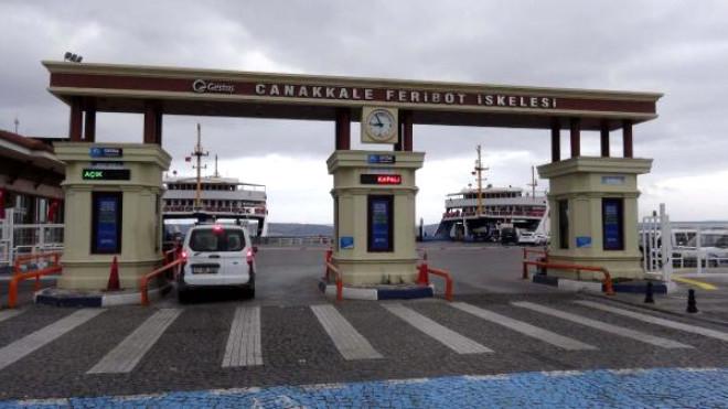 Çanakkale'de Fırtına Yüzünden Adalara Bazı Seferler İptal Edildi