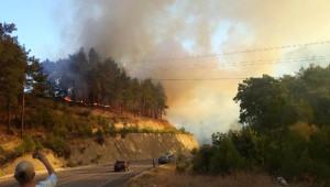 Finike'de Orman Yangını (2) (Yeniden)
