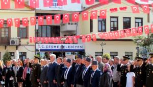 İzmir'in İlçelerini 'Cumhuriyet' Coşkusu Sardı