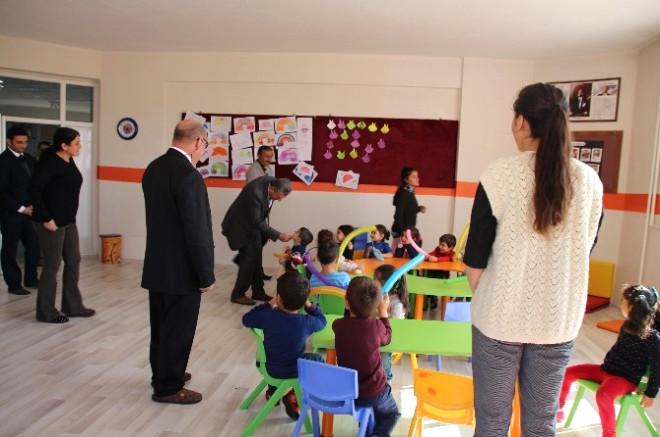 Müdür Aslan'dan Anaokulu Öğrencilerine Ziyaret