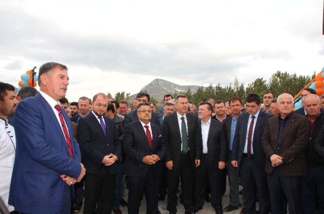 Vezirhan'da Tesis Açılışı