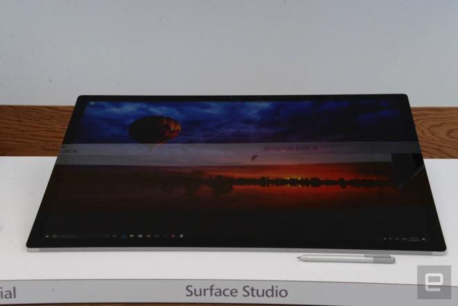 Yeni Microsoft Surface Studio, İmac'e Rakip Çıktı