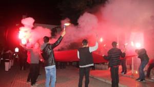 Bafra'da Bayrak Yürüyüşü