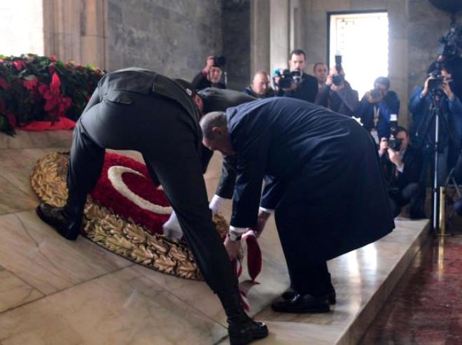 Başkent'te 29 Ekim Törenleri Anıtkabir'de Başladı / Ek Fotoğraflar