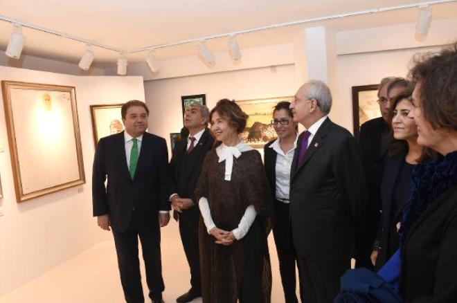 CHP Lideri Kılıçdaroğlu, Fikret Otyam Sanat Evi'ni Açtı