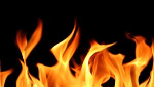 Benzinliğe Yaklaşan Alevler Korku Dolu Anlar Yaşattı