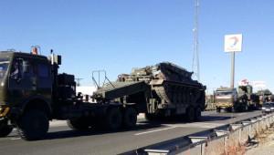 Şırnak'a Askeri Araç Sevkiyatı