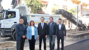 Özlem Çerçioğlu Nazilli'de Yeni Yapılan Yolları Denetledi