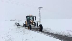 Patnos'ta Kar Yağışı