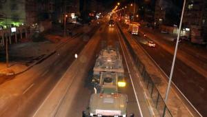 Tank ve Zırhlı Araç Konvoyu Kızıltepe'ye, İş Makineleri İse Silopi'ye Ulaştı