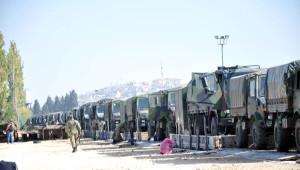 Ankara ve Çankırı'dan Sevk Edilen Askeri Konvoy Gaziantep'te