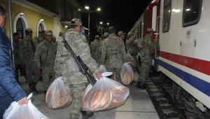 Çankırı'dan Sınıra Askeri Personel Sevkiyatı Devam Ediyor