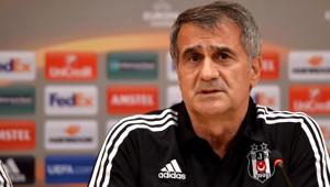 Beşiktaş - Trabzonspor Maçının Ardından - Beşiktaş Teknik Direktörü Şenol Güneş (1)
