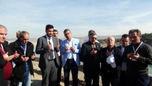Gaziantep'te İçme Suyu Gezisinde Yağmur Duası