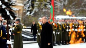 Belarus Zafer Anıtı'na Çelenk Koyma Töreni (2)