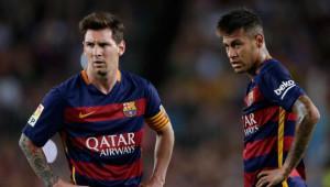 Neymar, Messi'ye Geçit Vermedi