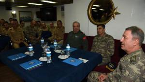 Orgeneral Akar, Donanma Komutanlığı ve Bağlı Birliklerinde İnceleme ve Denetlemelerdu Bulundu