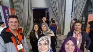 Gediz Evliya Çelebi Anadolu Lisesi Öğrencileri Eskişehir Educaturk Üniversite Tanıtım Fuarı'nda
