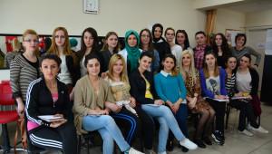 Bursa'dan Kosovalı Kadınlara Kurs Desteği