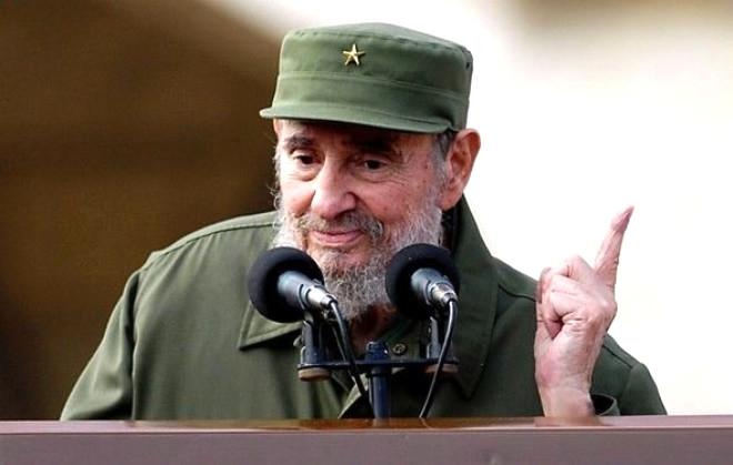 Hayata Veda Eden Efsane Devrimci Castro'dan Unutulmaz Kare