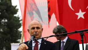 Makedonya'dan Başkan Akgün'e Teşekkür