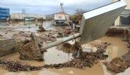 Metrekareye 215 Kg Yağış Düşen Ayvalık'tan Korkunç Kareler