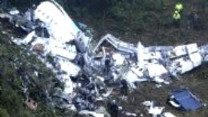 Dünyayı Sarsan Uçak Kazasından Kareler