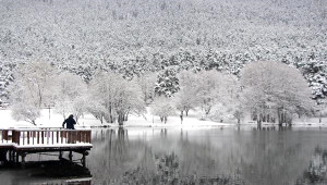 Gölcük'te Kar Güzelliği