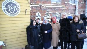 Semiha Yıldırım Tataristan'da Çak Çak Müzesi'ni Gezdi