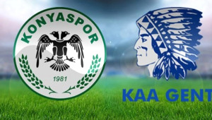 Atiker Konyaspor Gent Maçı! İlk 11'ler - Canlı Skor