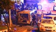 Beşiktaş'da Bombalı Saldırı! Olay Yerinden Kareler