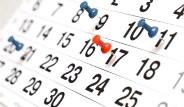 2017'de Tatiller Hangi Günlere Geliyor