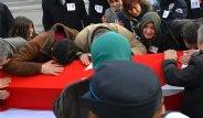 Beşiktaş Şehitlerinin Cenazelerinden Kareler