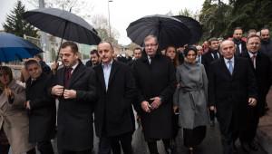 AK Parti ve CHP'li Belediye Meclis Üyeleri Şehitleri Birlikte Andı...