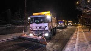 Kayseri'de Soğuk ve Kar Yaşamı Olumsuz Etkiledi (2)