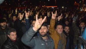 Karabük'te Teröre Tepki Yürüyüşü