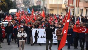Gazeteciler 'Hasan Tahsin Ruhu' Sloganıyla Teröre Lanet Yürüyüşü Düzenledi