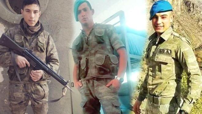 Kayseri'de hain saldırıya uğrayan Askerler Hakkâri'den yeni dönmüştü
