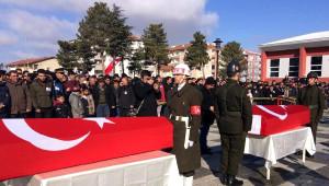 Kırşehir, Çifte Şehitlerini Uğurladı