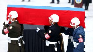 Rus Büyükelçi Karlov'u Uğurlama Töreni