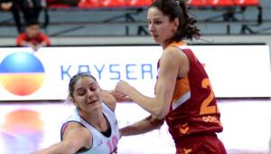 Bellona Agü Spor - Galatasaray: 60 - 56