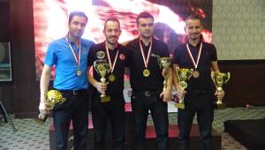 Pool Bilardoda Dereceye Girenlere Ödülleri Verildi