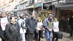 Ankara'ya Yürüyen Kesk Üyeleri ile Polis Arasında Arbede Çıktı (2)