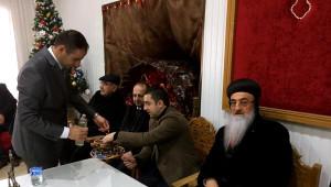 Midyat'taki Süryaniler 'Yaldo Bayramı'nı Kutladı