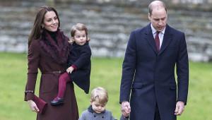 Prens William ve Cambridge Düşesinin Noel Tatilinden 21 Kare